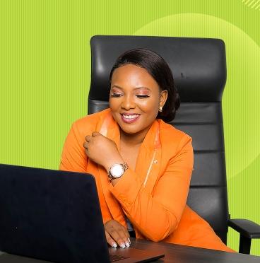 Woman accessing MySmile Portal