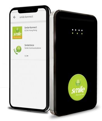 SmileKonnect Mobile App and Device