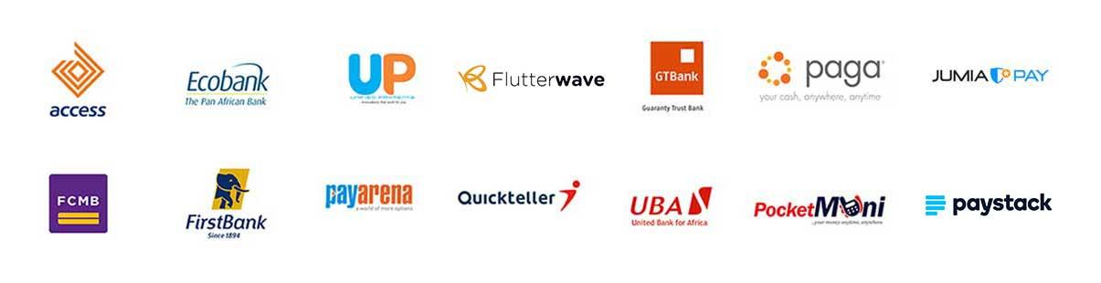 Smile Recharge Partner Logos