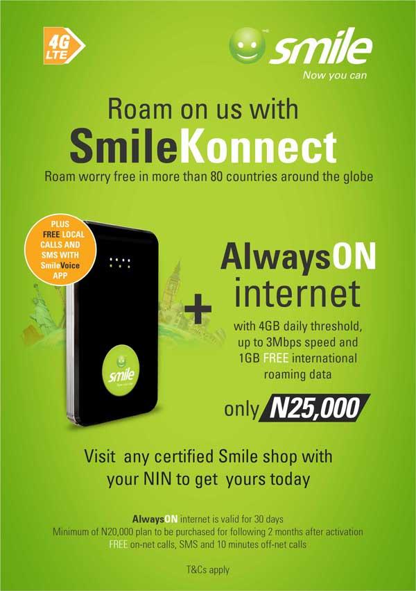 SmileKonnect Offer